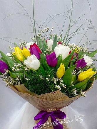 Купить тюльпаны в минске цены съедобные цветы на торт купить